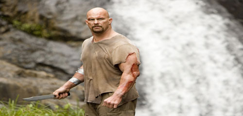 Steve Austin in THE CONDEMNED