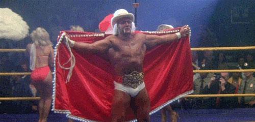 Hulk Hogan in ROCKY III