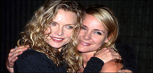 Dedee and Michelle Pfeiffer