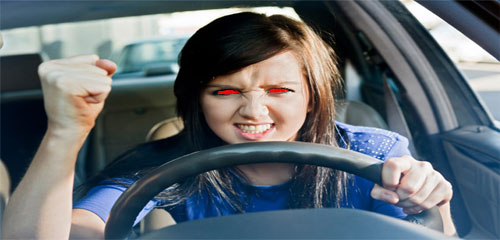 Woman-having-road-rage