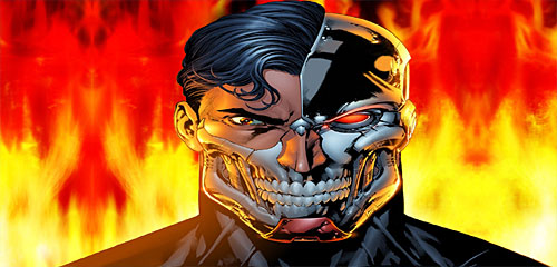 Henshaw is best known in the comics as the cyborg nemesis of Superman